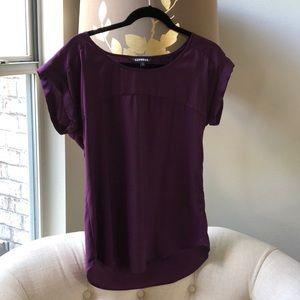 Short sleeve blouse